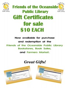 Gift Certificates Sale Sign