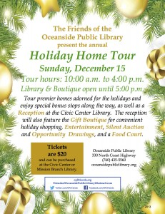 Holiday Home Tour 2013 Flyer